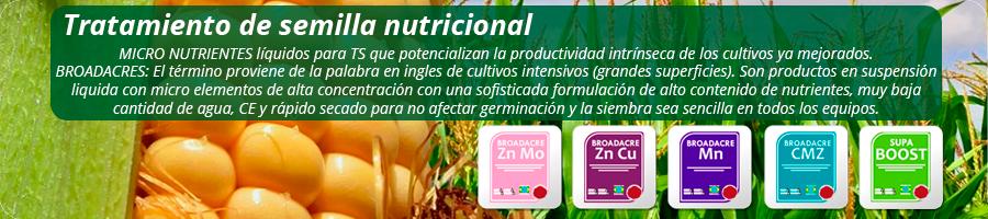 Productos en suspención líquida con microelementos de alta concentración con una sofisticada formulación, de altocontenido de nutrientes, CE, y rápido secado.