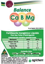 Balance CaBMg