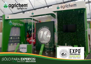 Agrichem presente en la Expo AgroAlimentaria #Guanajuato #2018
