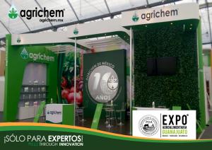 Agrichem presente en la Expo AgroAlimentaria #Guanajuato #2018.